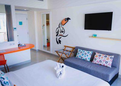 Tijili Benoa Bedroom Courtyard