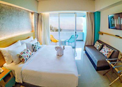 Tijili Benoa Deluxe Seaview_Room